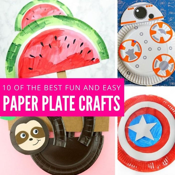 10 of The Best Paper Plate Crafts For Kids