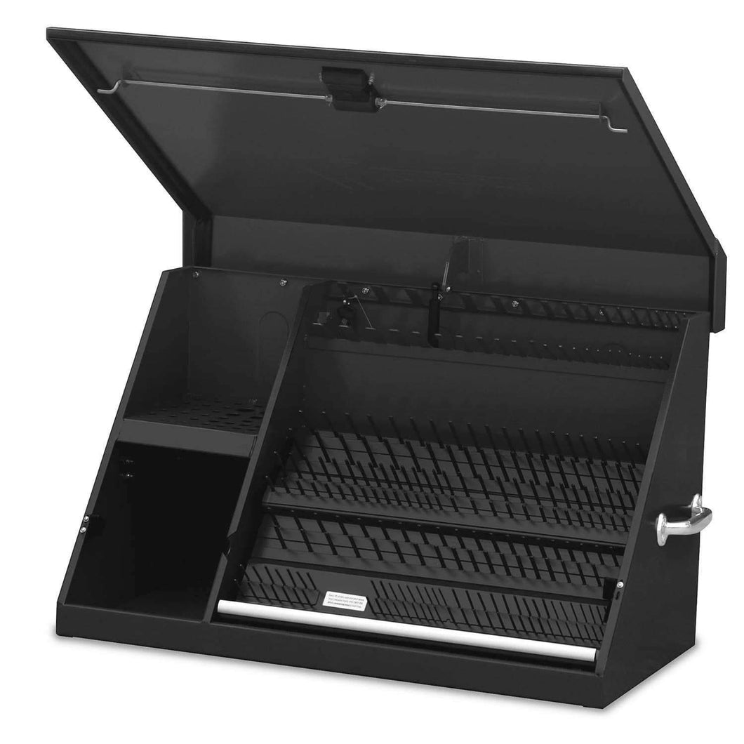 Results montezuma xl450b 36 inch portable triangle toolbox multi tier design 16 gauge construction sae and metric tool chest weather resistant toolbox lock and latching system