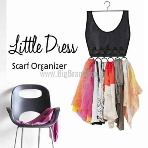 Little Dress Scarf Organizer 16 Rings