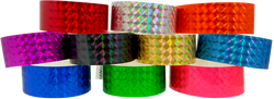 "Adhesive Techno 1"" x 10"" Wristbands"