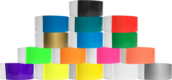 "Genesis 1"" Litter Free Biodegradeable Solid Color Wristbands"
