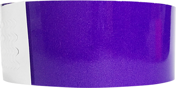 "Genesis 1"" Litter Free Biodegradeable Solid Purple Wristband"