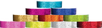 Plastic Sparkle, L-Shape Wristbands in All Colors