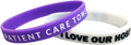 Custom Silicone One Color Imprint Wristbands