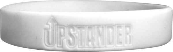 Silicone Upstander Wristband