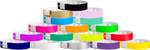 Soft Comfort L-Shape Snapped Solid Color wristbands