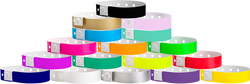 "Soft Comfort Plastic L-Shape 3/4"" x 10"" Snapped Wristbands"