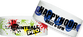 "Custom Tyvek® 1 x 10"" Pattern One Color Imprint Wristbands"