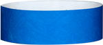 "A 1"" Tyvek® litter free solid Blue wristband"