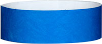 "A Tyvek® 1"" solid Blue wristband"