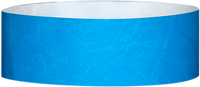 "A 1"" Tyvek® litter free solid Light Blue wristband"