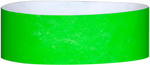 "A Tyvek® 1"" solid Neon Lime wristband"