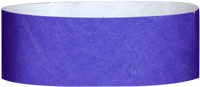 "A Tyvek® 1"" solid Purple wristband"