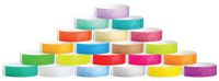 "A Tyvek®  3/4"" x 10"" Sheeted Solid wristbands"