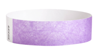 "A Tyvek®  3/4"" x 10"" Sheeted Solid Berry wristband"