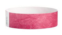"A Tyvek®  3/4"" x 10"" Sheeted Solid Cranberry wristband"