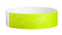 "A Tyvek®  3/4"" x 10"" Sheeted Solid Lime Green wristband"