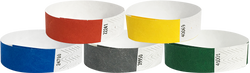 "Tyvek® 3/4"" Solid Color Combo Pack Wristbands"