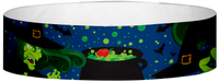 "A Tyvek® 3/4"" X 10"" Witches Multicolored wristband"