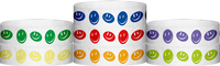 "A Tyvek® 3/4"" X 10"" Happy Face Wristbands"