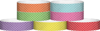 "A Tyvek® 3/4"" X 10"" Honeycomb Wristbands"