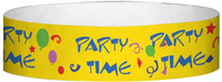 "A Tyvek® 3/4"" X 10"" Party Time Multicolored wristband"