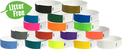 "Tyvek® 3/4"" Litter Free Wristbands"