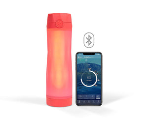 Hidrate Spark 3 Smart Water Bottle - Tracks Water Intake & Glows to Remind You to Stay Hydrated - Prep it