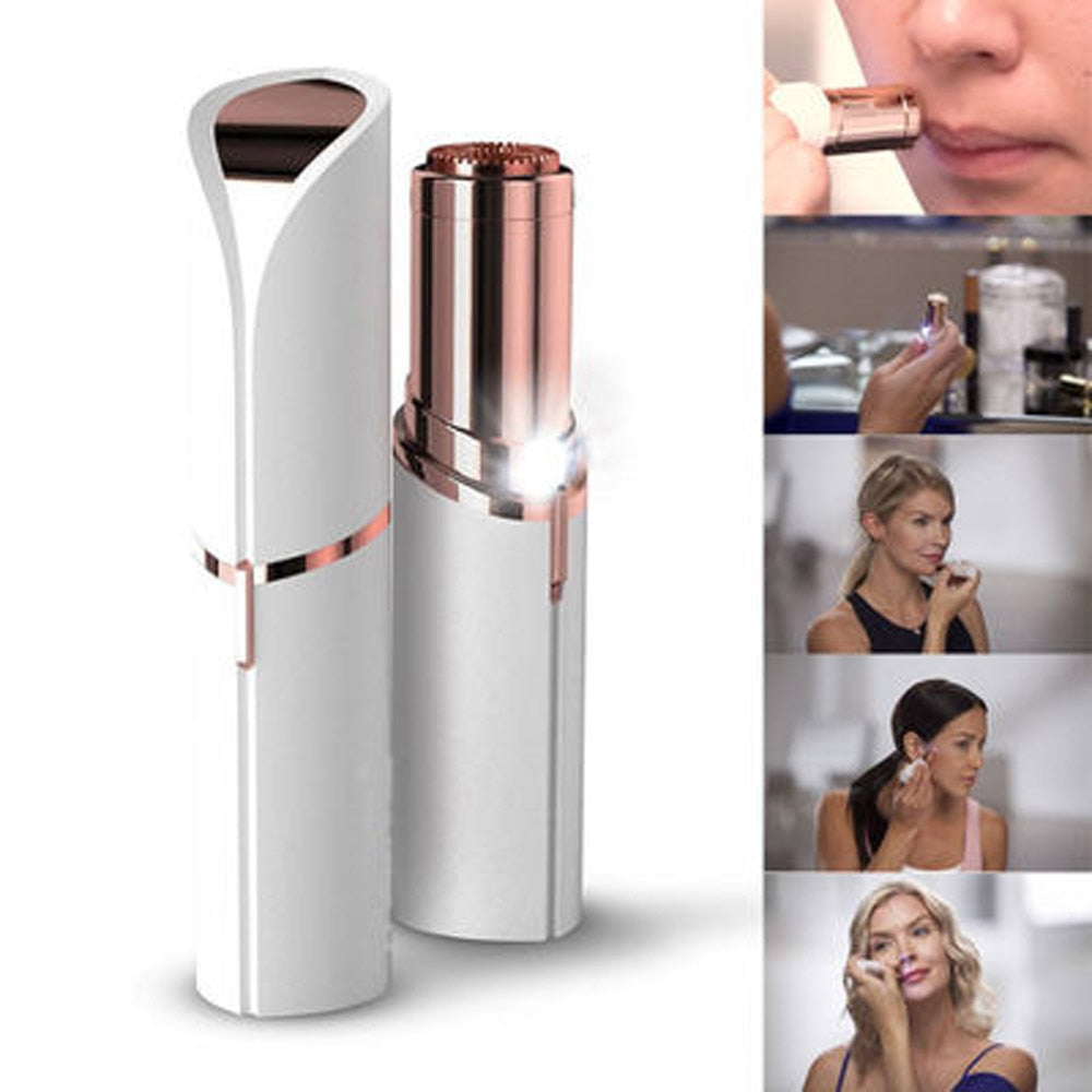 Mini Brows Eyebrow Trimmer Electric Professional Lipstick Epilator Eyebrow Hair Removal Painless Shaver Portable Face Care Hair - Prep it