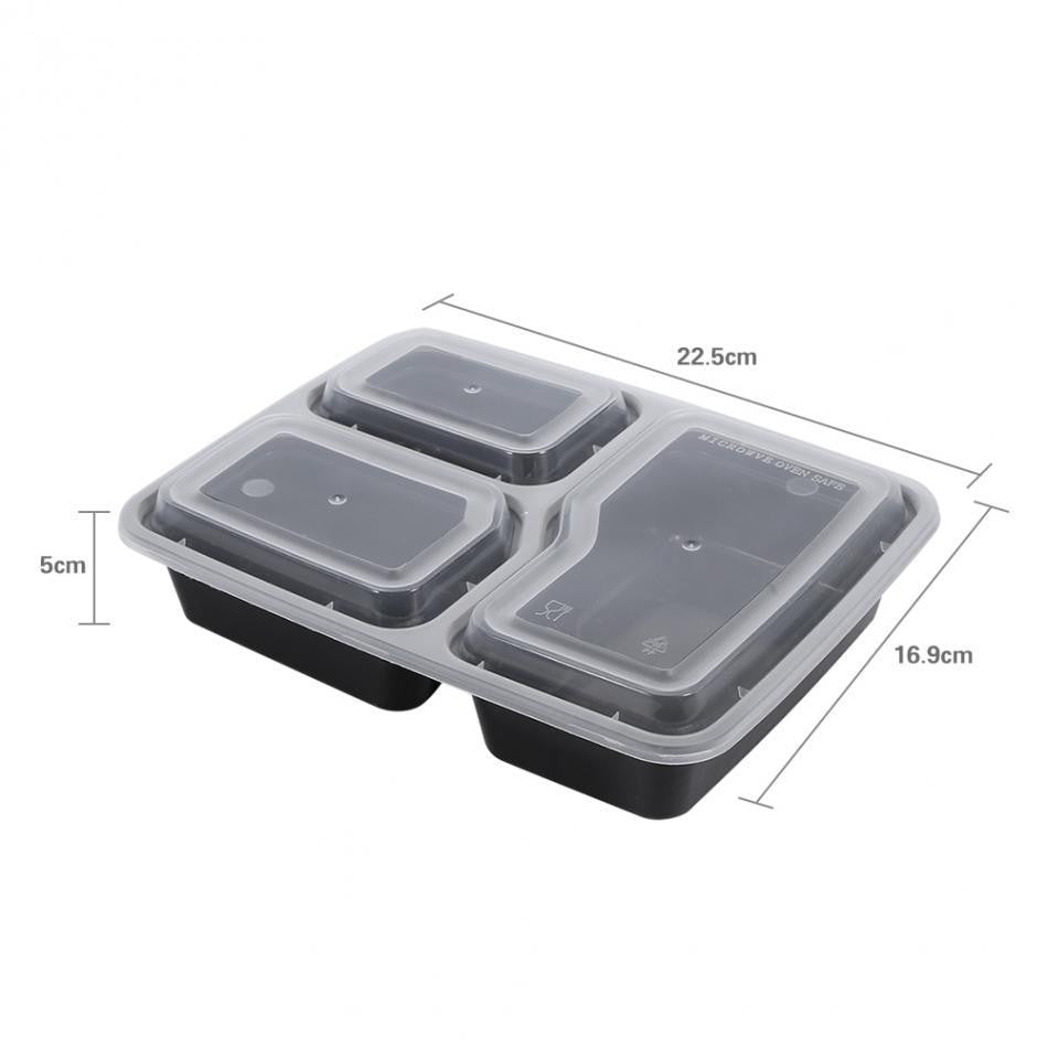 10pcs Reusable Meal Prep lunch container - Prep it