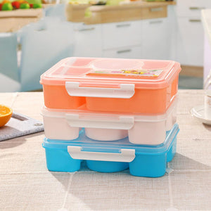 5 in 1 Food Container +Spoon Utensils - Prep it