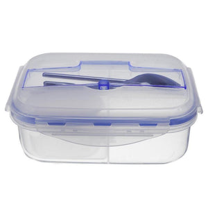Durable Lunch  Food Container with Tableware - Prep it
