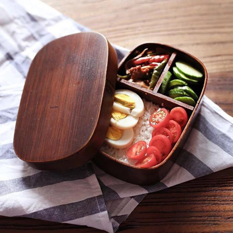 Traditional Japanese Style Meal Prep Containers - Prep it