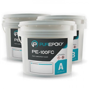 PurEpoxy PE-100FC Fast Cure Transparent Epoxy 100% Solid