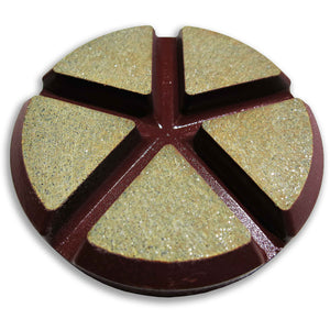 WORX+ Ceramic Floor Pads - 75mm - 30 Grit, Surface Plus, LLC