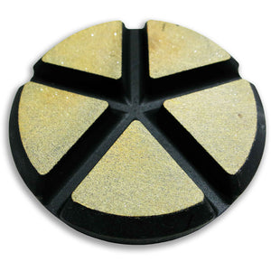 WORX+ Ceramic Floor Pads - 75mm - 100 Grit, Surface Plus, LLC