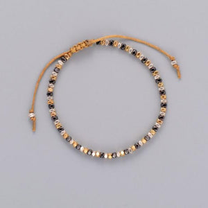 Simple Beaded Stone Bracelet - Maui Kitten Beachwear