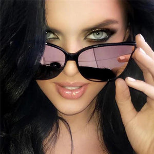 Mirrored Cat Eye Sunglasses - Maui Kitten Beachwear