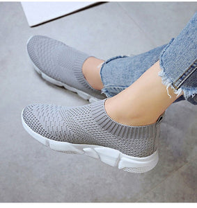 Fly-knit Beach Sneakers