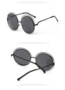 Vintage Double Round Sunglasses