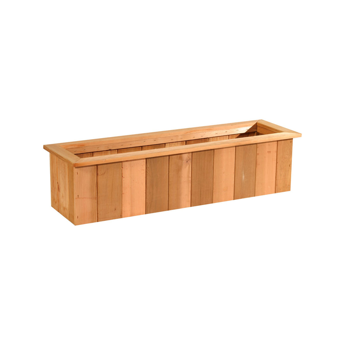 Cedar Trough Planter