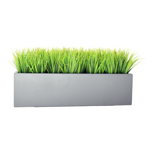 "20"" or 32"" Rectangular Planter with Grass"