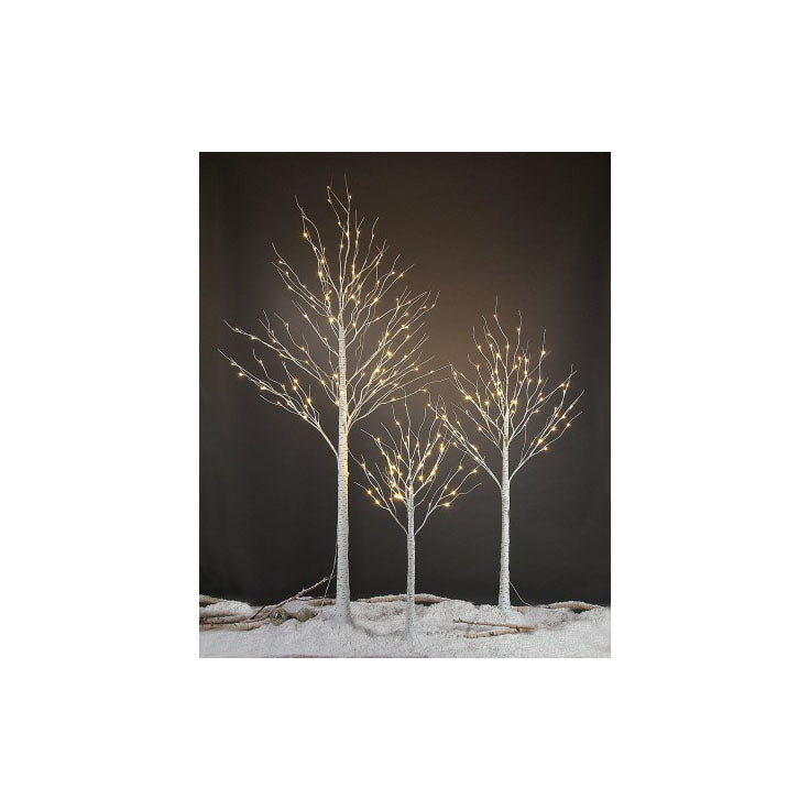 Paper Birch LED Tree