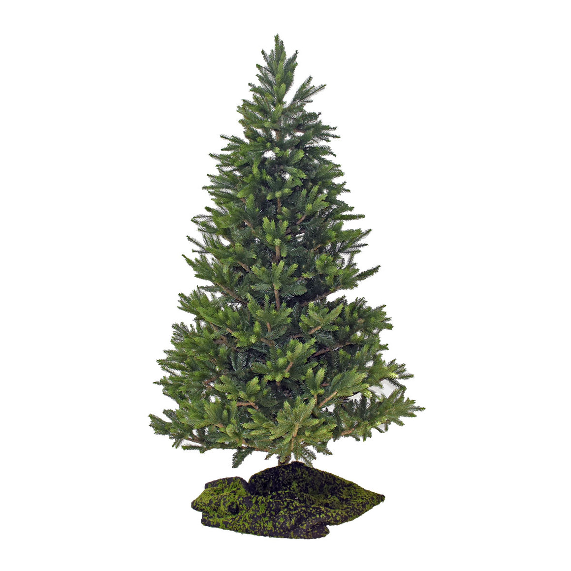 Christmas Tree - Green with No Lights, Undecorated