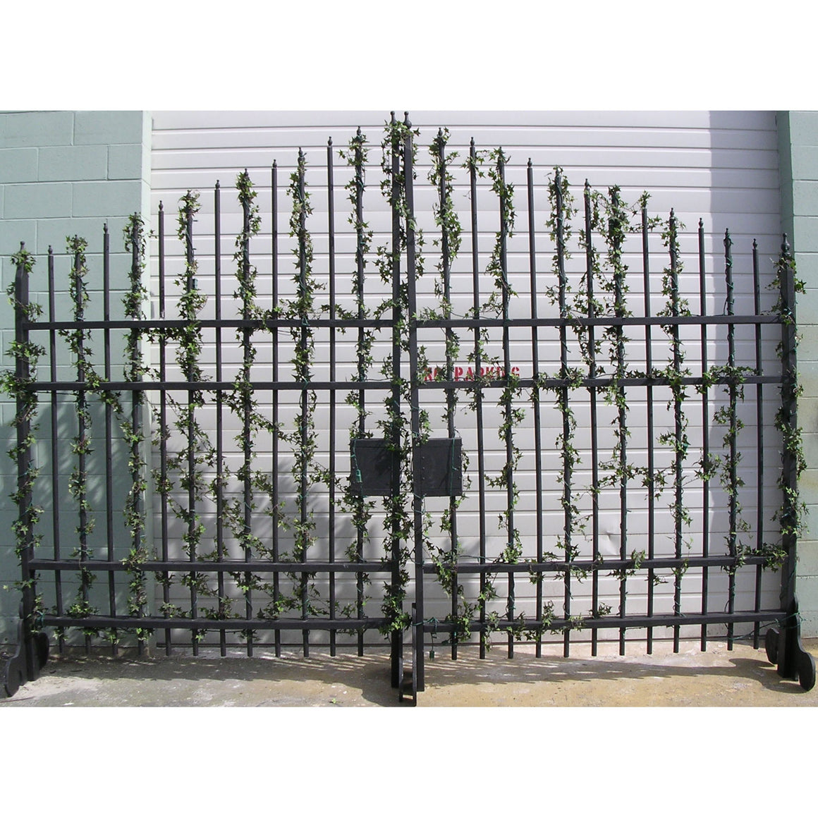 Wrought Iron Gates - Set of 2
