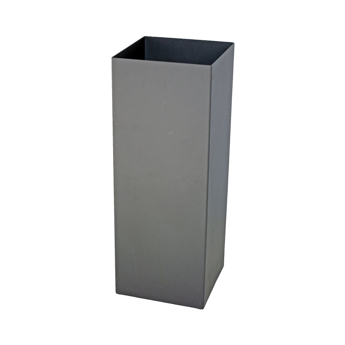 Aluminum Tower Planter with Tall Grass