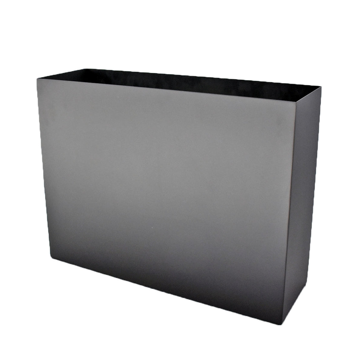 Aluminum Trough Planter with Short Grass