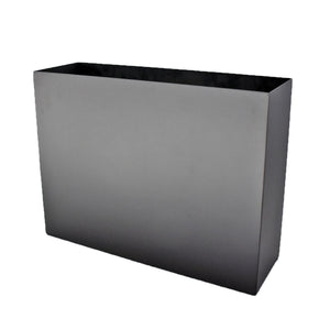 Aluminum Trough Planter with Zamia