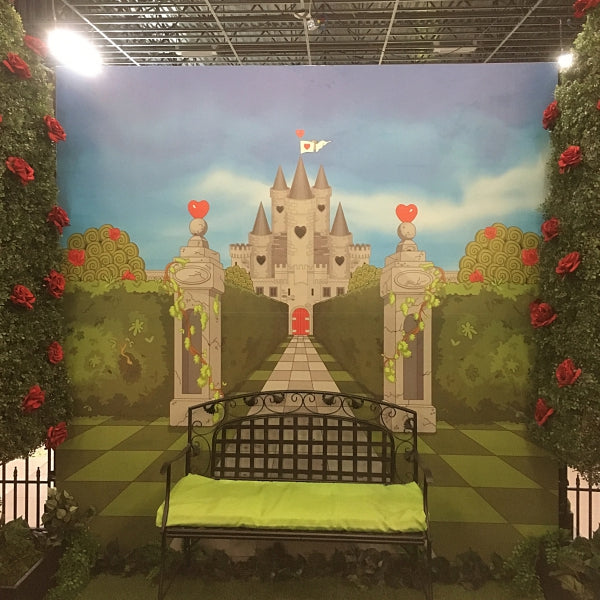 Backdrop - Alice in Wonderland