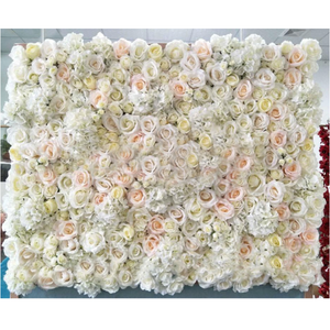 Flower Wall - Mixed White Flowers